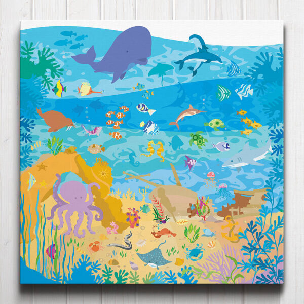 Under the Sea Canvas
