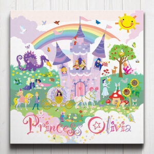 Fairy Princess Personalised Canvas