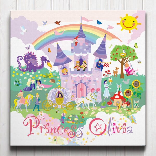 Fairy Princess Personalised Canvas