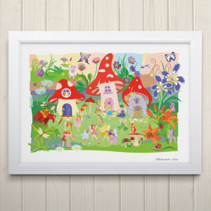 Flower Fairies Print