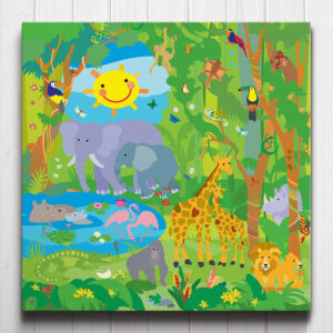 Jungle Adventure Canvas