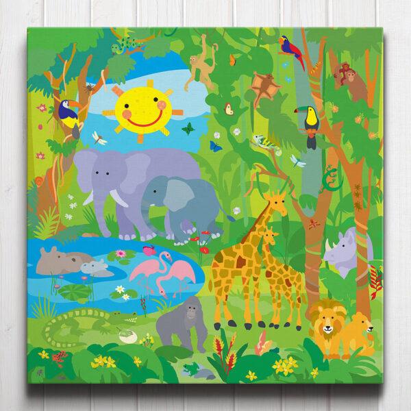 Jungle Adventure Canvas
