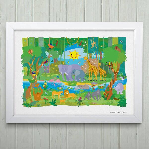 Jungle Adventure Print