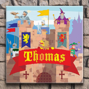 Knight's Castle Personalised Canvas