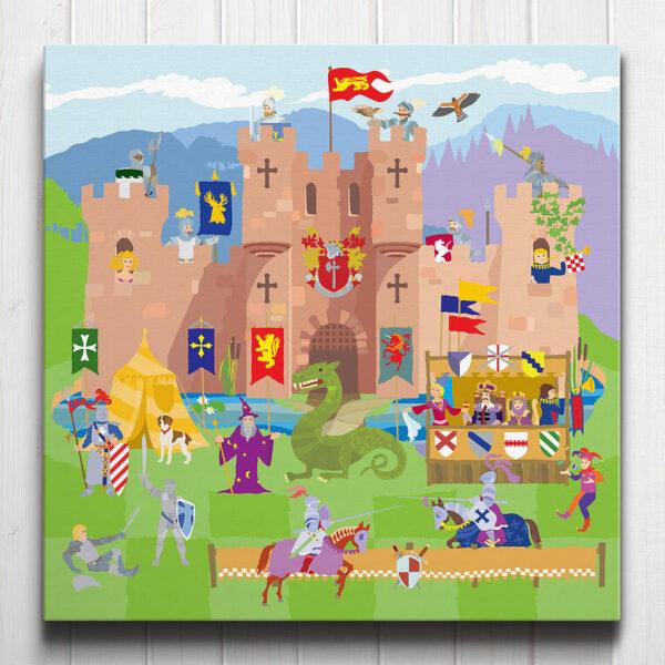 Knight's Castle Canvas