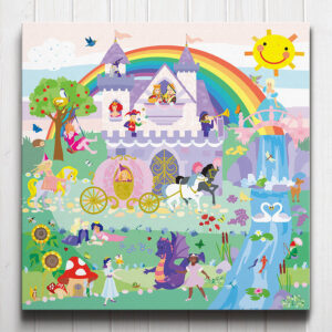 Once Upon A Time Princess Canvas