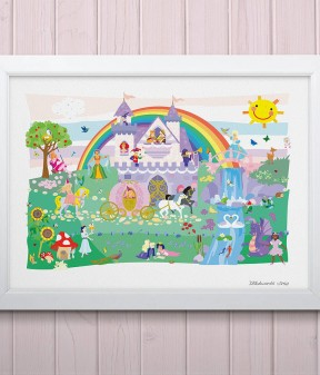 Once Upon a Time Princess Print
