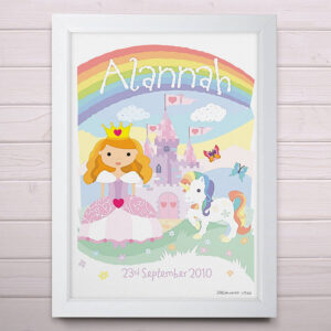 Personalised Little Princess Print