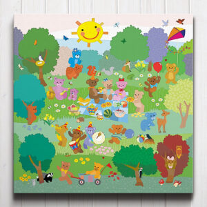 Teddy Bears' Picnic Canvas