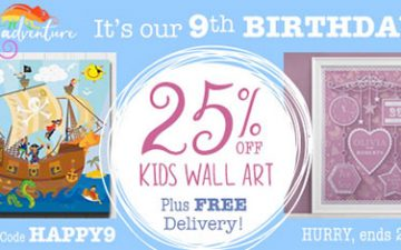 Ninth Birthday - Save 25%