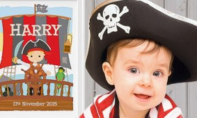 Personalised Pirate Print