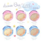 Dream Big Little One Personalised Print