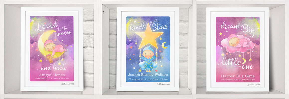 New Baby Inspirational Quotes Prints